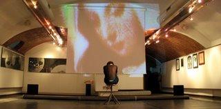 Giuliana Urciuoli alla mostra di Maria Luisa Grimani